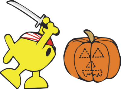400x294 Pumpkin Carving Clipart