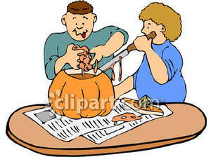 300x224 Carving A Pumpkin Clipart Cliparts