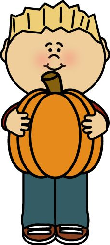 228x505 Pumpkin Clipart Child