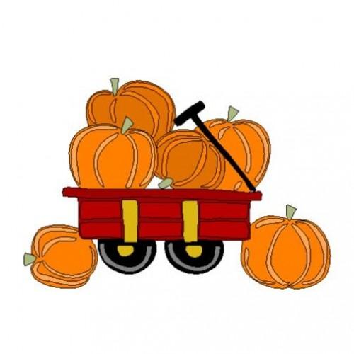 500x500 Pumpkin Clipart Wagon