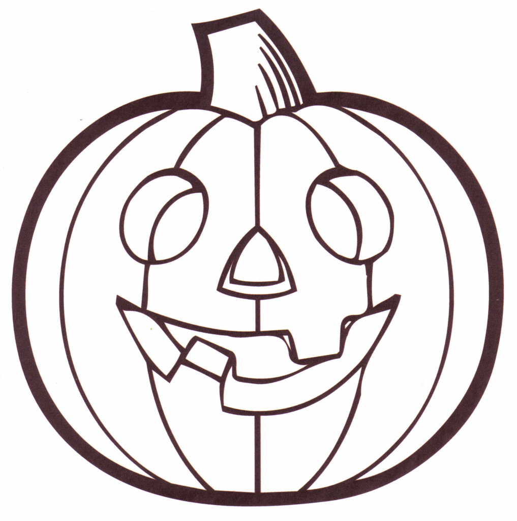 1017x1024 Simple Pumpkin Drawing Pumpkin Line Clipart Clipart Kid