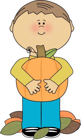 327x560 Cute Boy Scarecrow Clipart
