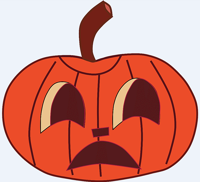 768x702 Cute pumpkin clip art free clipart images –