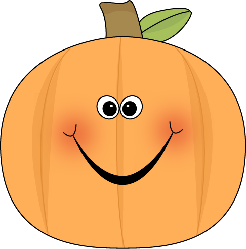 486x493 Cute Pumpkin Clip Art