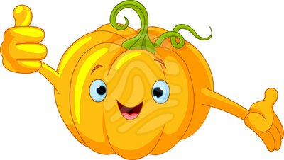 400x226 Cute Pumpkin Clipart