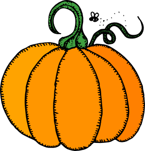 288x300 Black And White Halloween Pumpkin Clipart Halloweenfunky