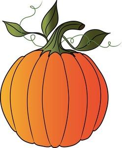 248x300 Clip Art Pumpkin