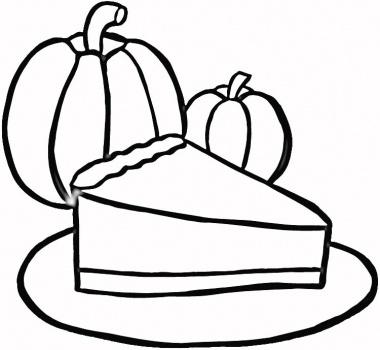 380x350 Pie Black And White Pie Pumpkin Flower Clip Art Black And White