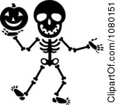 169x150 Black And White Halloween Clipart