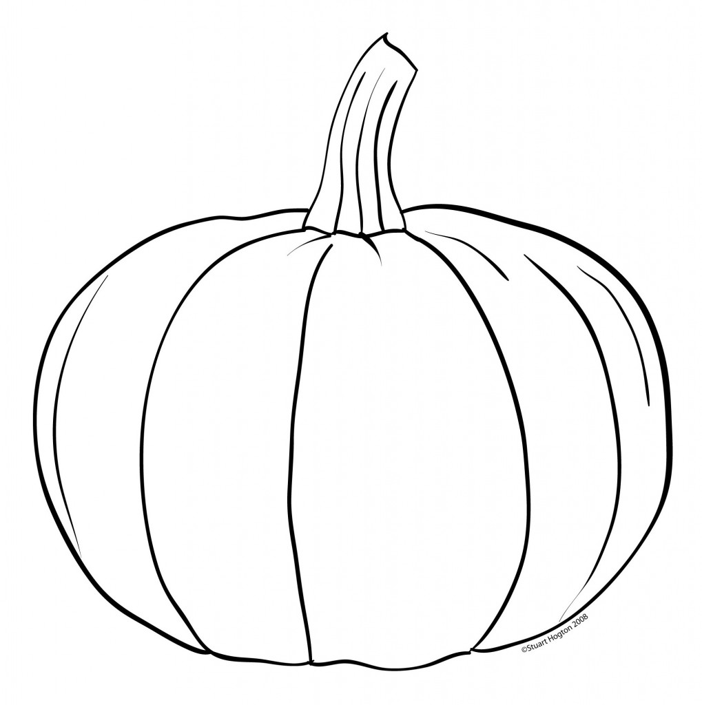 1019x1024 Pumpkin Black And White Pumpkin Outline Printable Clip Art Black