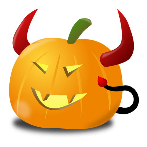 500x500 Devil Pumpkin Vector Clip Art Public Domain Vectors