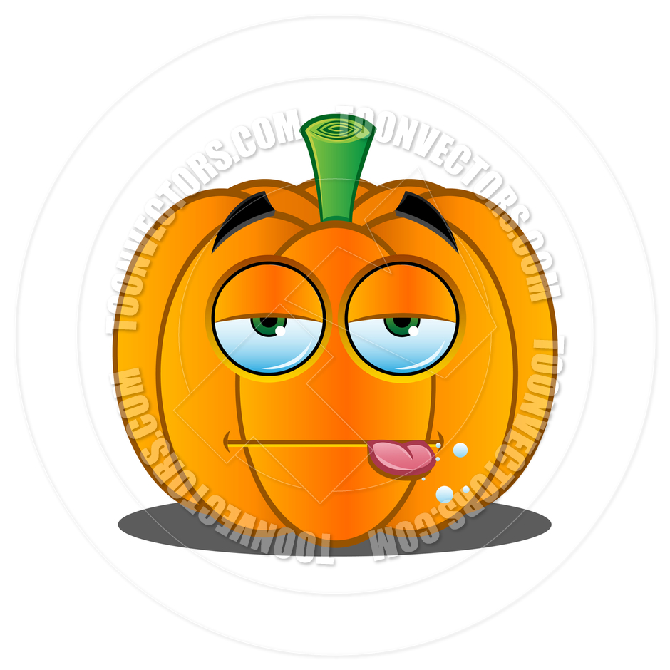 940x940 Cartoon Jack O' Lantern Pumpkin Face By Designwolf Toon Vectors