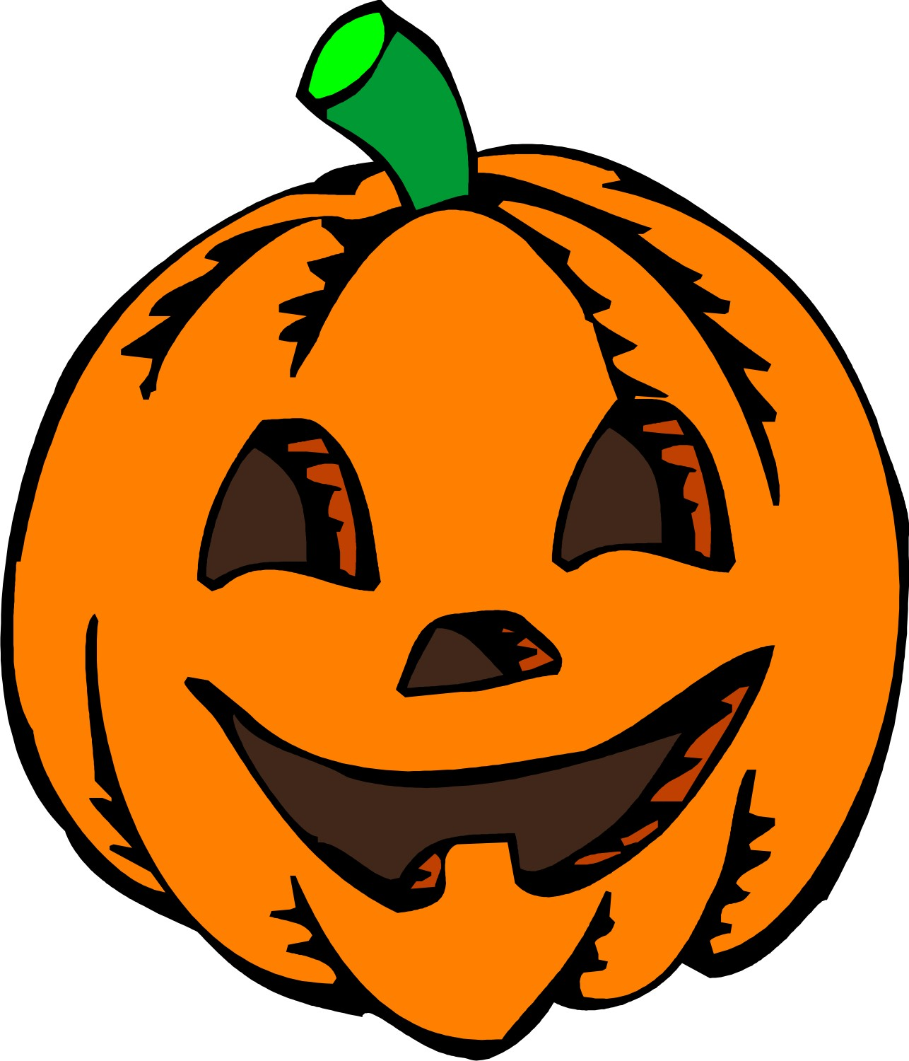 1286x1500 Cartoon Pumpkin Clipart 2187836