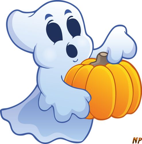 Pumpkin Decorating Clipart