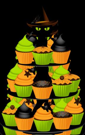 288x457 Happy Birthday Pumpkin Clipart