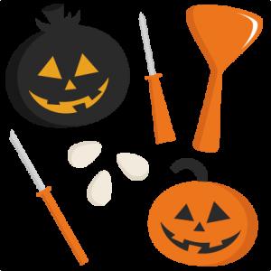 300x300 Carving Pumpkins Clipart