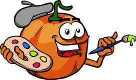 272x160 Decorated Pumpkin Clipart