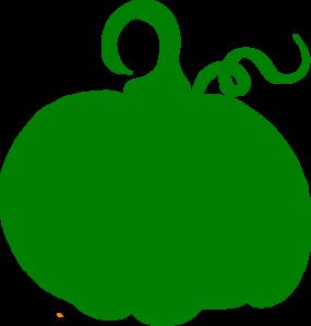 285x299 Green Pumpkin Clip Art