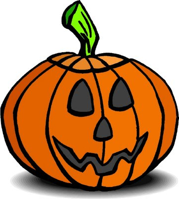 361x400 Halloween Pumpkin Clipart