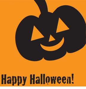 290x300 Happy Halloween Clipart Image