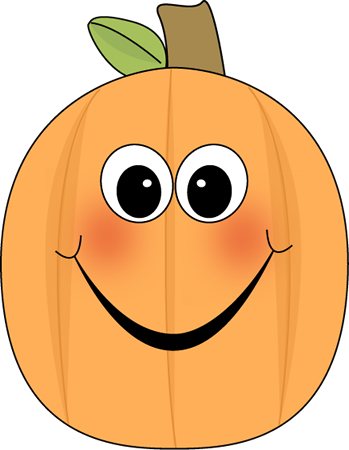 349x450 Happy Pumpkin Clip Art