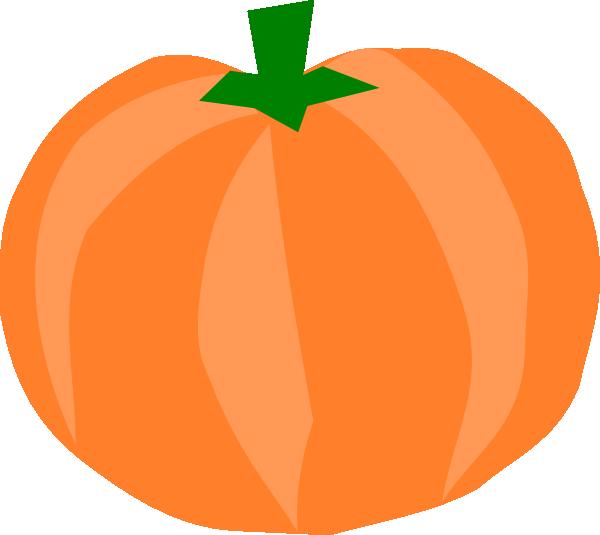 600x535 Pumpkin Clip Art