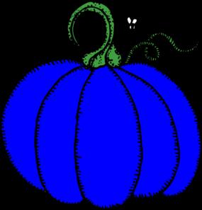 285x297 Blue Pumpkin Clip Art