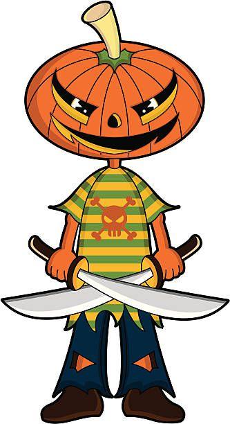 Pumpkin Head Clipart