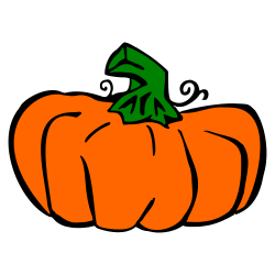 250x250 Free Pumpkin Clipart Images 6