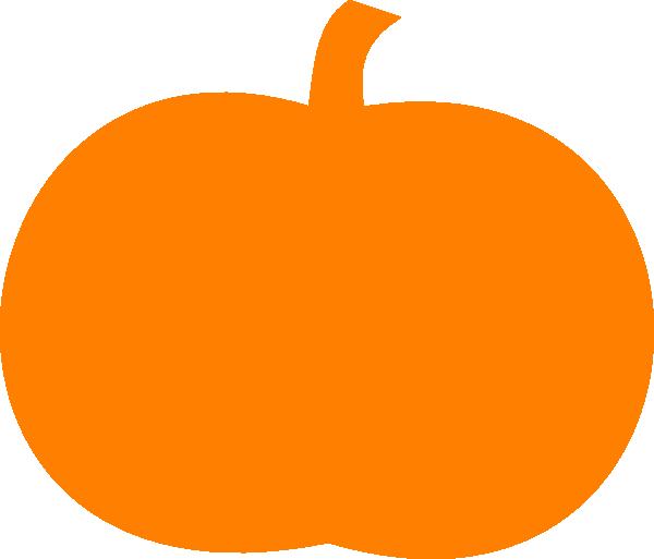 600x513 Orange Pumpkin Clip Art