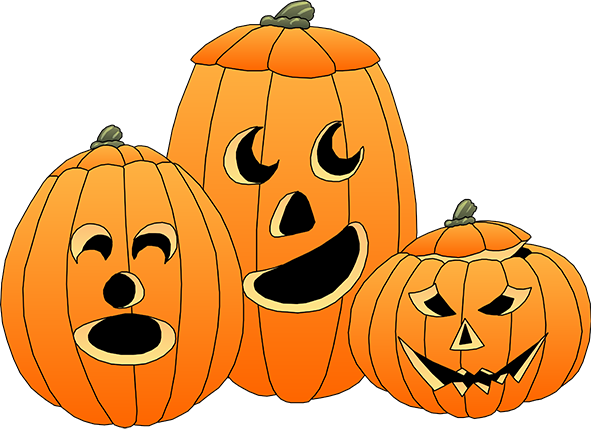 591x429 Pumpkin Clipart Happy Birthday