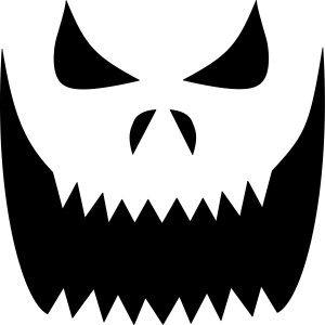 Pumpkin Mouth Clipart