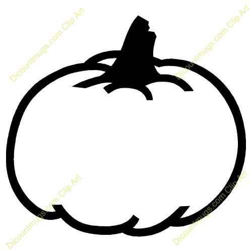 500x500 Pumpkin Outline Clip Art Many Interesting Cliparts