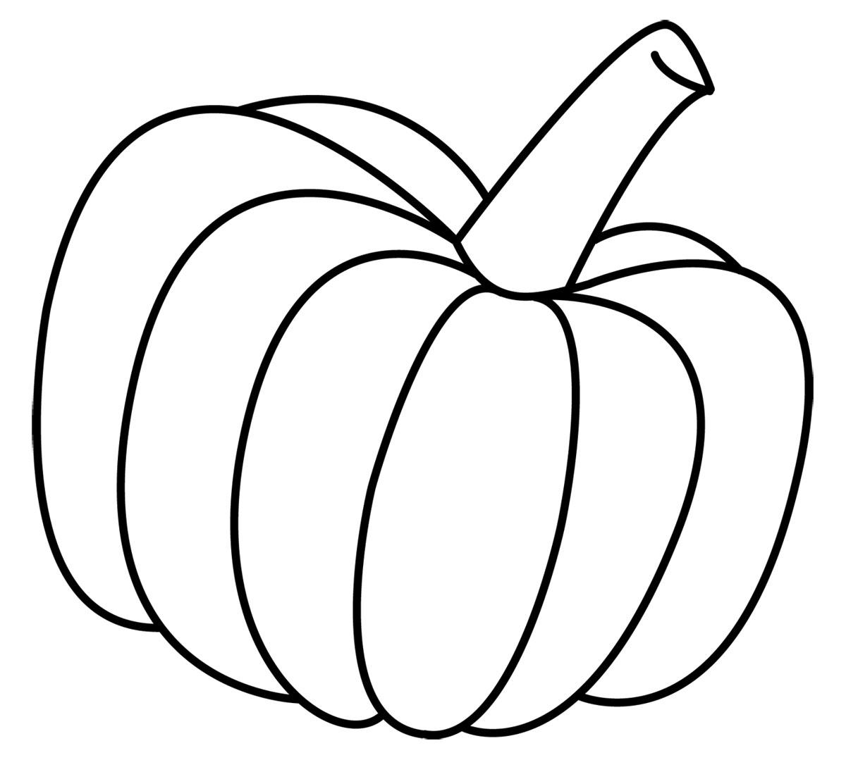 1200x1079 Pumpkin Outline Clipart