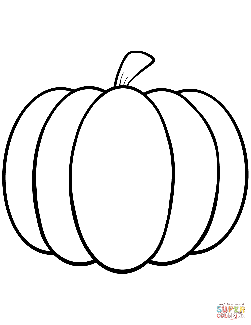 picture regarding Pumpkin Outlines Printable known as Pumpkin Define Totally free down load easiest Pumpkin Determine upon