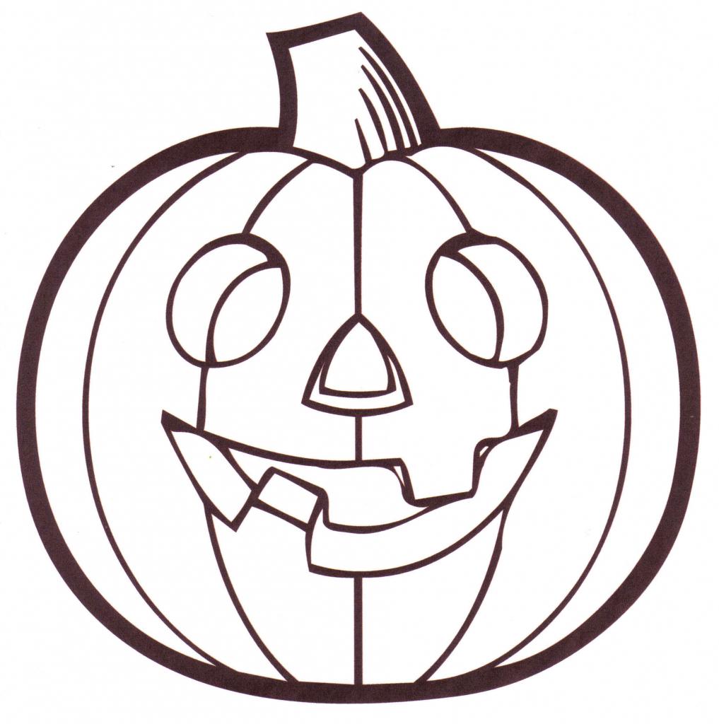 1017x1024 Simple Pumpkin Drawing Pumpkin Outline Clipart Clipart Kid