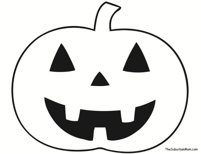 700x537 The Best Pumpkin Outline Ideas Pumpkin Outline
