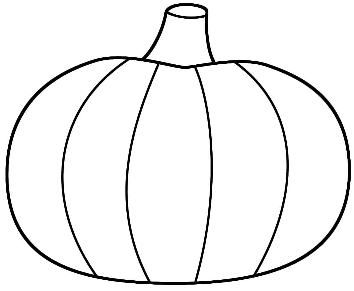 1157x954 Best Pumpkin Outline Printable