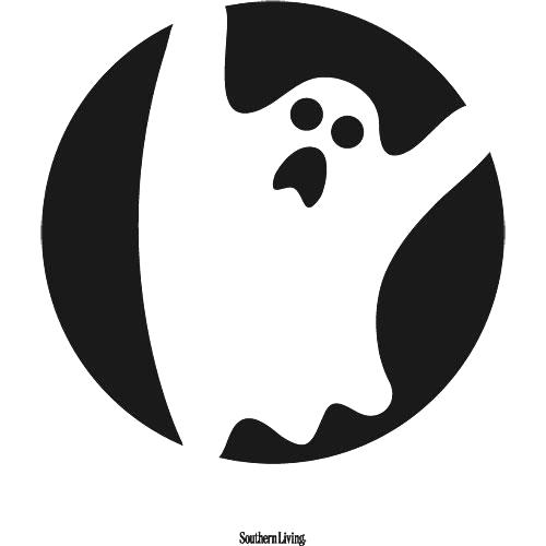 500x500 Ghost Cutouts Printable