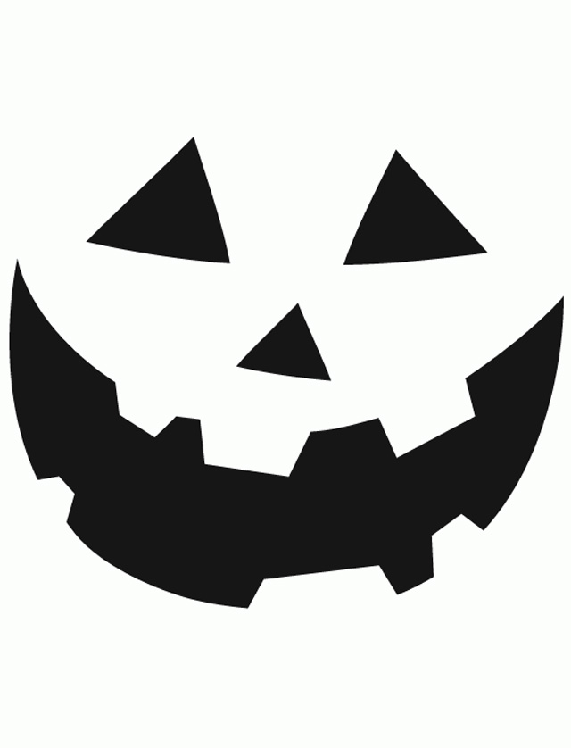 photograph regarding Printable Pumpkin Face known as Pumpkin Outlines Printable Absolutely free down load most straightforward Pumpkin