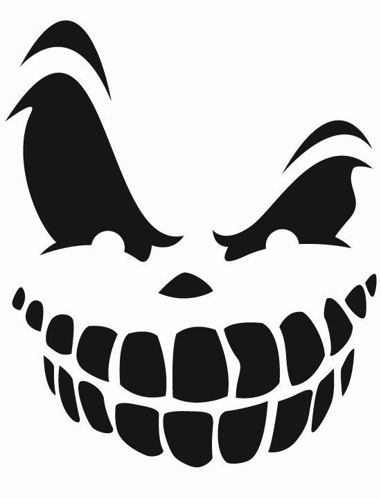 X Best Pumpkin Stencil Ideas Halloween Stencils With Pig Face Template Printable Colouring