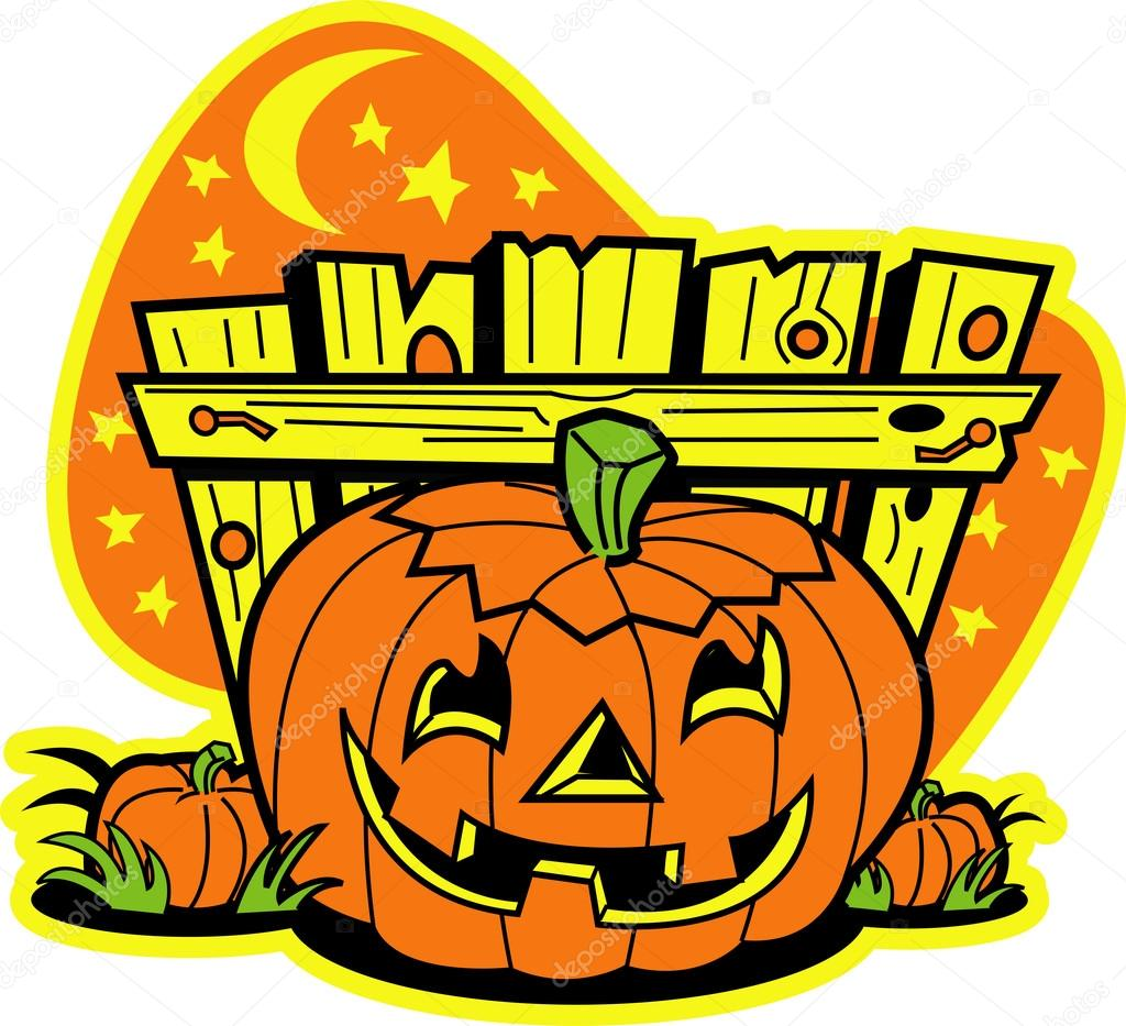Pumpkin Patch Cartoon | Free download on ClipArtMag