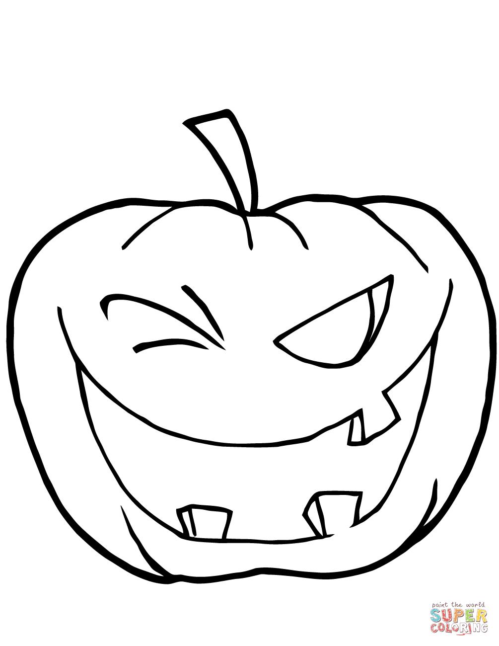 Pumpkin Patch Coloring Page Free Download Best Pumpkin