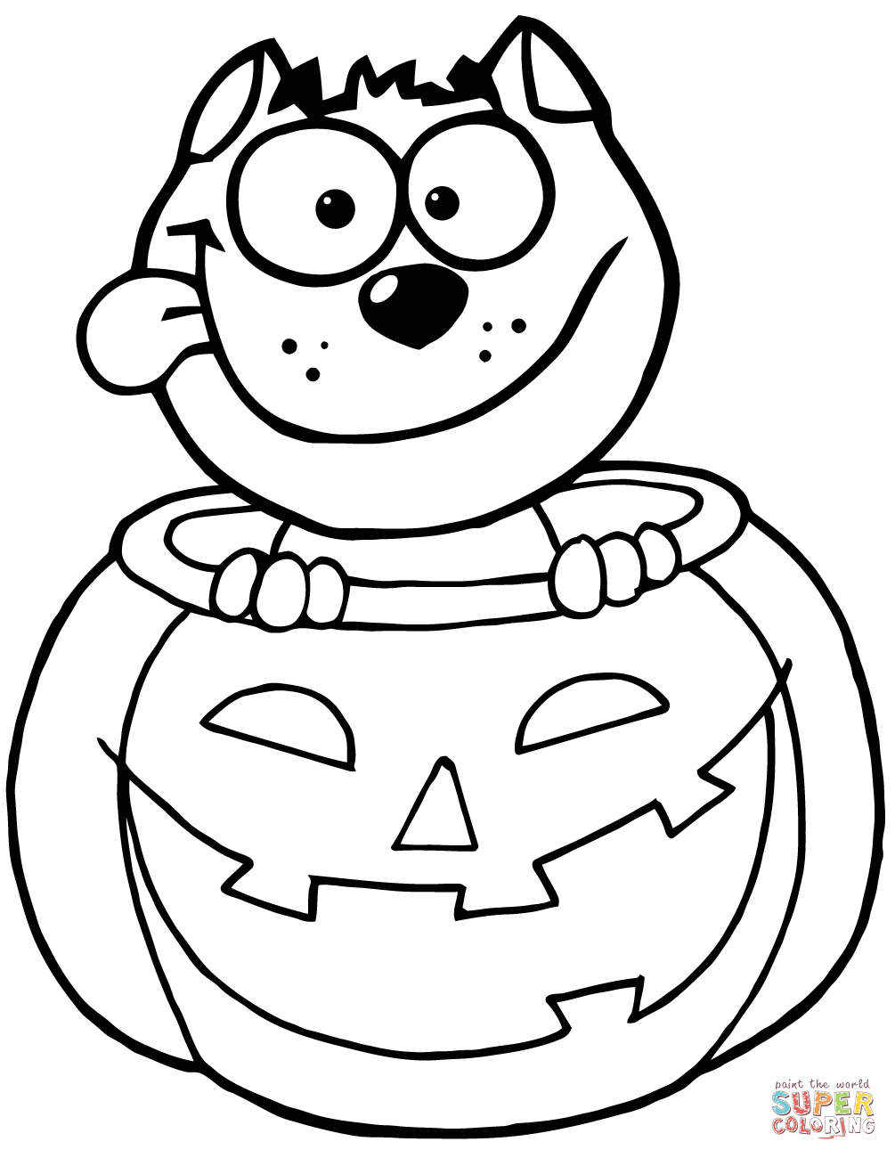 Pumpkin Patch Coloring Page | Free download best Pumpkin Patch ...