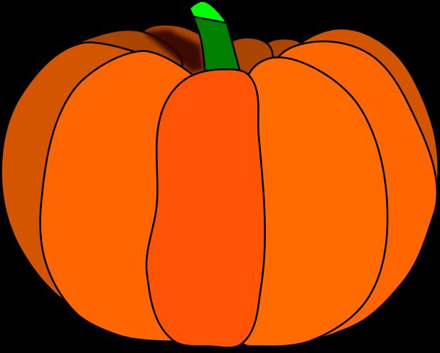 619x496 Thanksgiving Pumpkin Clipart