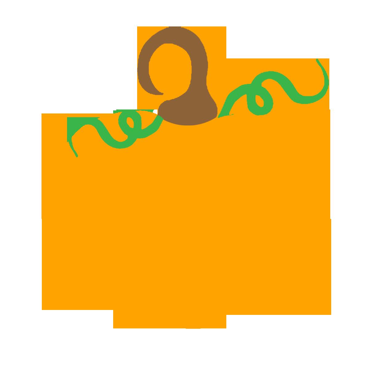 1200x1200 Falling clipart pumpkin vine
