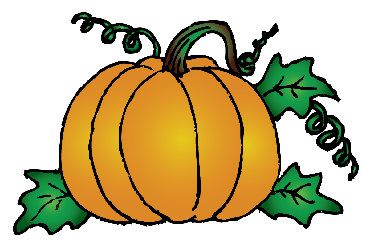 1214x788 Pumpkin leaves and vines clipart kid
