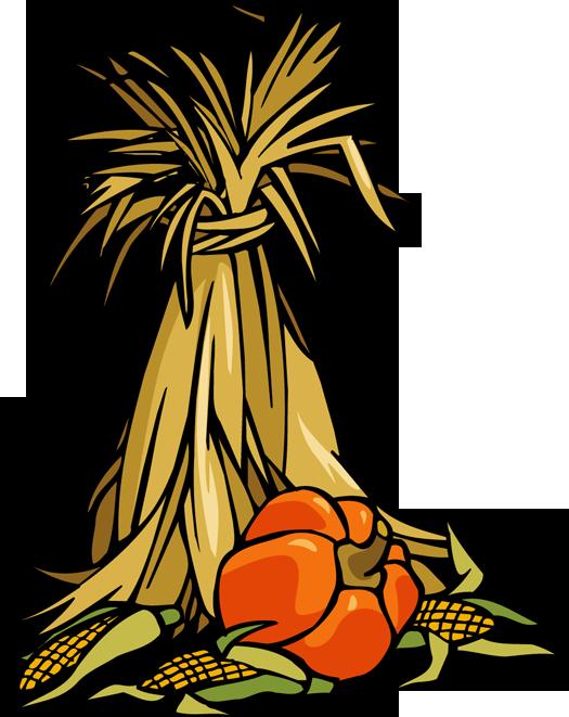 525x661 Colorful Clip Art for The Autumn Season Fall pumpkins, Clip art