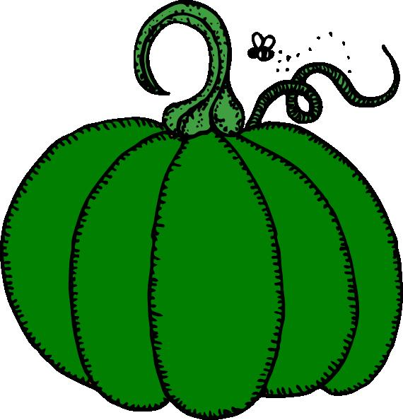 570x594 Green Pumpkin Clip Art