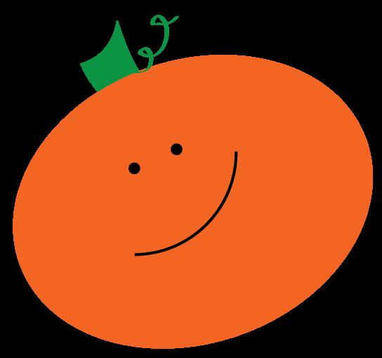 544x510 Smiling Pumpkin Clipart